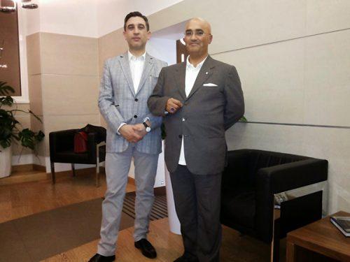 S.A.R. il Principe Don Ruben Alberto Gavalda incontra lo IADPES