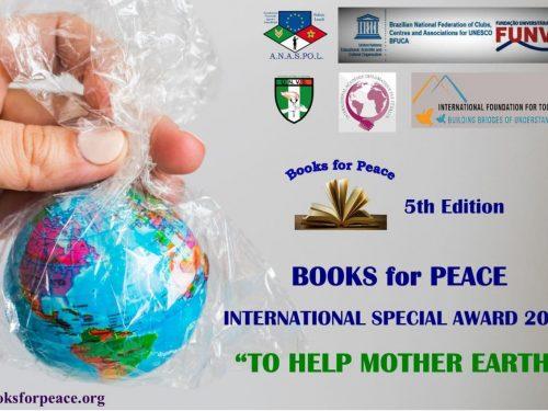 Books for Peace 2021 – Presentato il logo della V edizione dedicato all'Ambiente