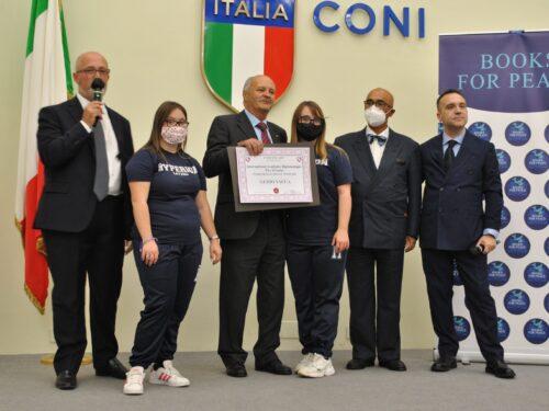 Guido Vacca, Presidente dell'AIM, benemerito dell'Accademia